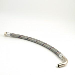 028C. Flexible hose 3/4 90 degree bend Length = 640 mm
