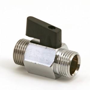 "Ball valve 1/2"" R15 male / male"