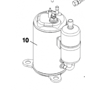 010B. Air Compressor to IVT 60 Combo