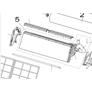 Condenser for Nordic Inverter LRN / PRN