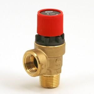"046C. Safety valve 1/2"" 4 bars red"