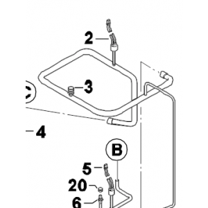 003C. Scrader valve u tube 922Bx3