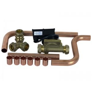 Flow switch incl VV & kv tube exchanger