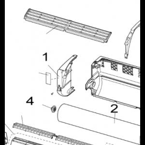 Front inner Left to Nordic Inverter LRN / PRN