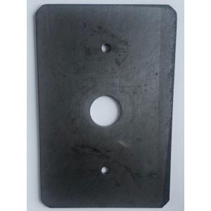 099. Burn Sheet ash door Vedex