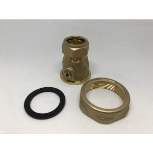 """036C. Shut-off valve 22 mm 11/2"""" 6204000"""