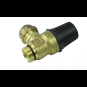 """Safety valve, brine 3 bar ½"""" 0209-"""