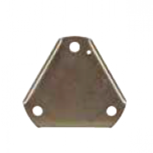 Flange Blind Triangular CTC V25